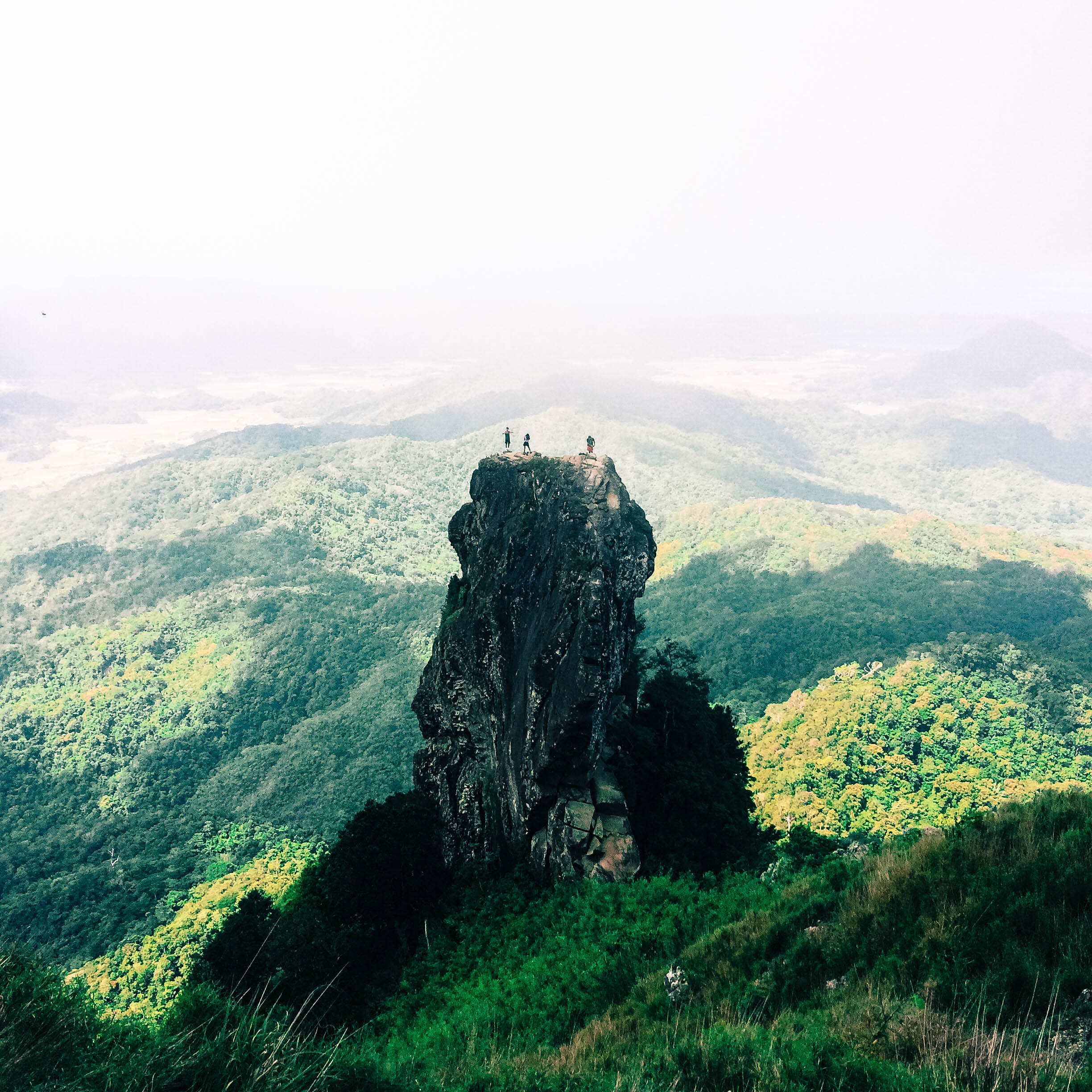 View of Pico de Loro in Mount Palay-Palay, Philippines