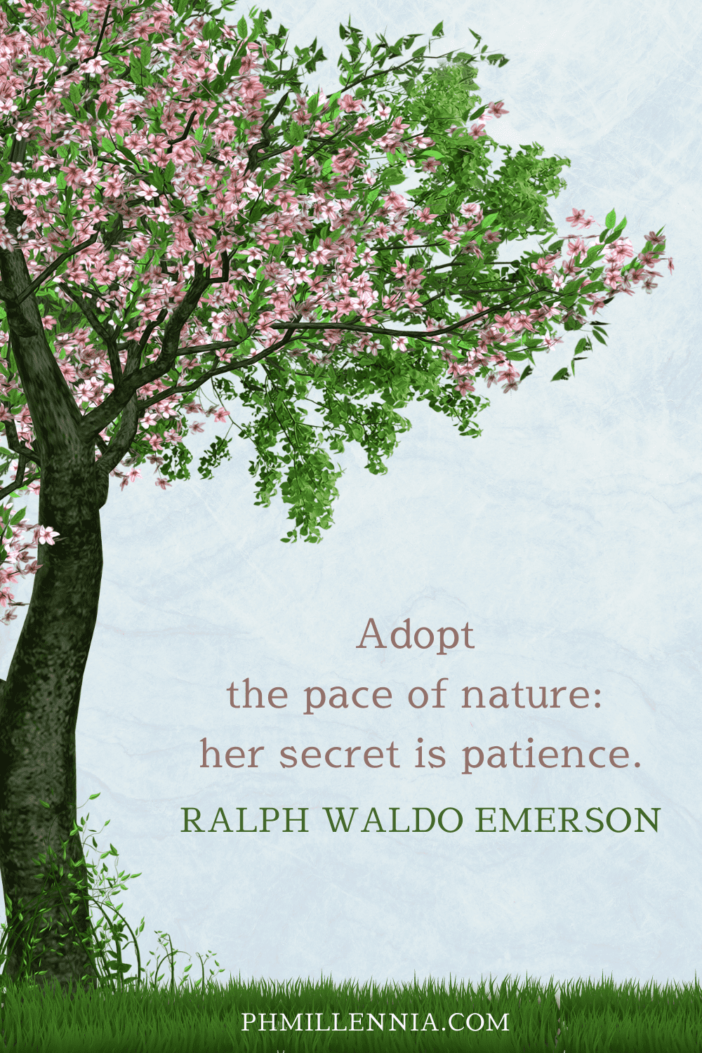A Pinterest Pin for the article '199 Quotes on Nature to Inspire a Lifelong Love for the Great Outdoors' on phmillennia