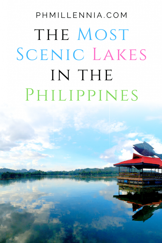 "Pinterest Graphic for the article ""The Most Scenic Lakes in the Philippines"""