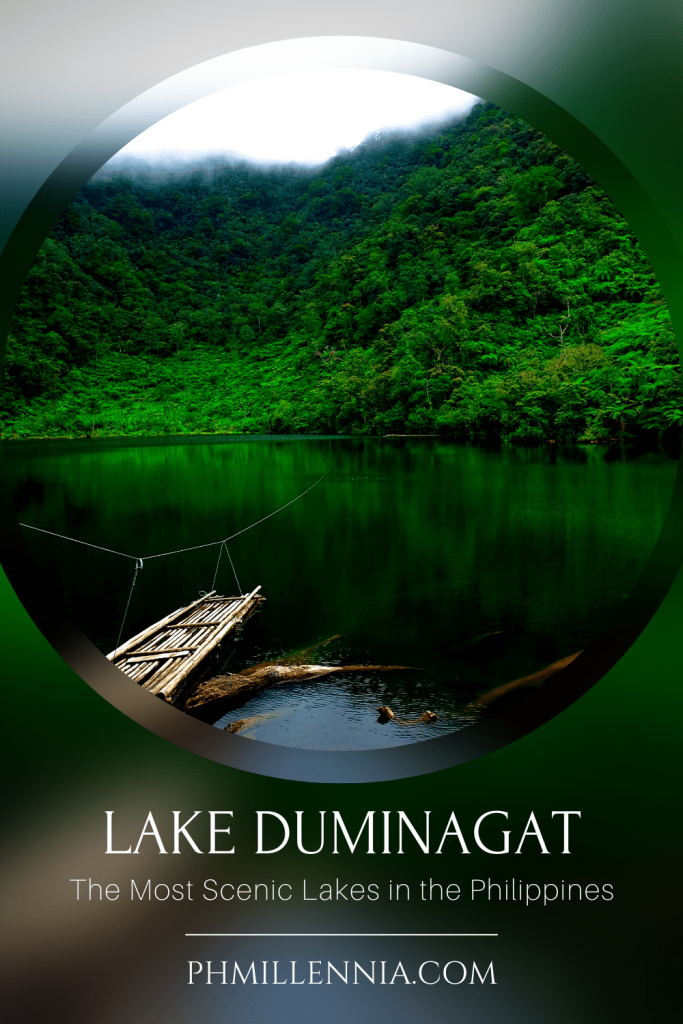 "A Pinterest Pin for the article ""The Most Scenic Lakes in the Philippines"" on phmillennia"