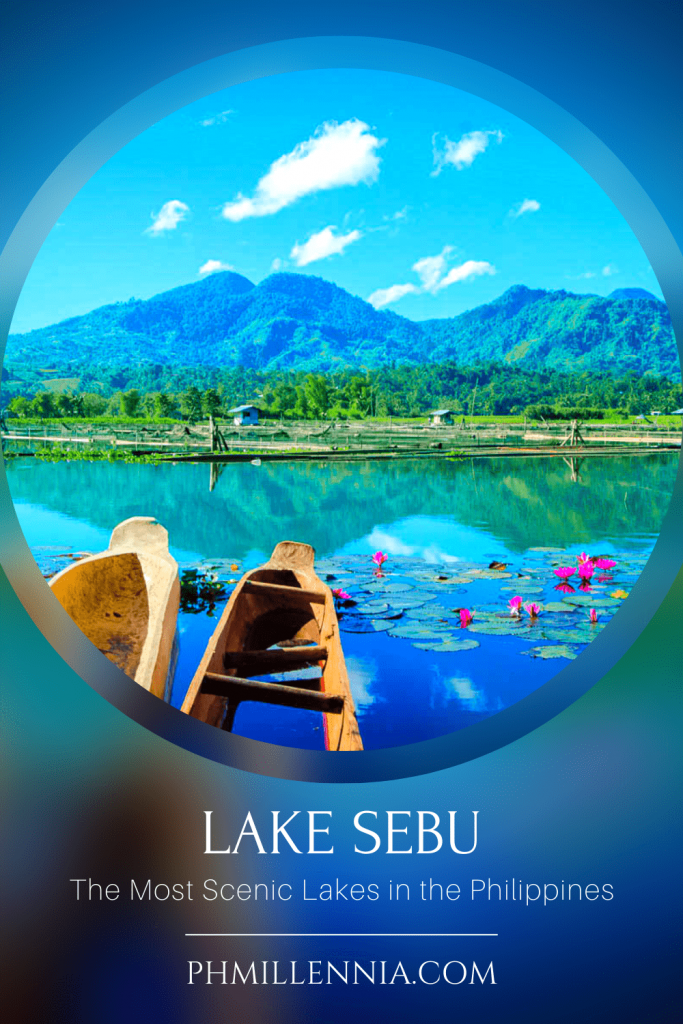 """A Pinterest Pin for the article """"The Most Scenic Lakes in the Philippines"""" on phmillennia"""