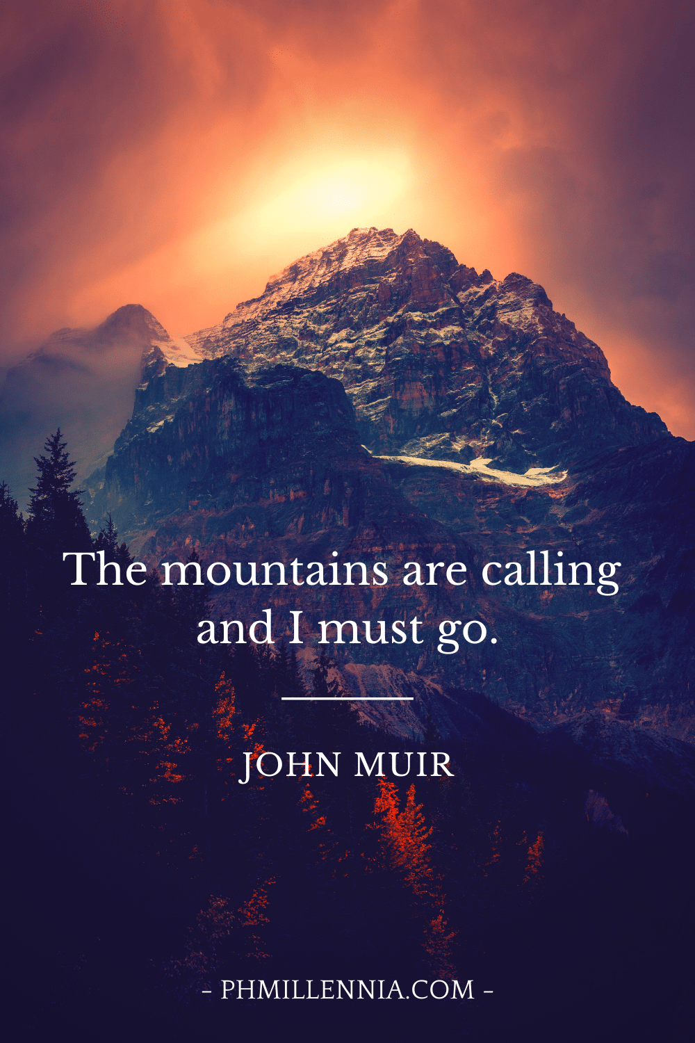 "Pinterest Pin for ""199 Impressive, Insightful, and Inspiring Quotes about Mountains"""
