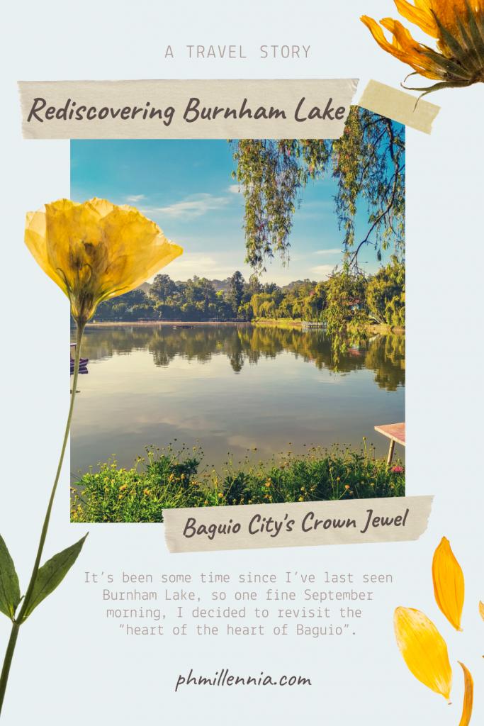 Rediscovering Burnham Lake, Baguio City's Crown Jewel | phmillennia