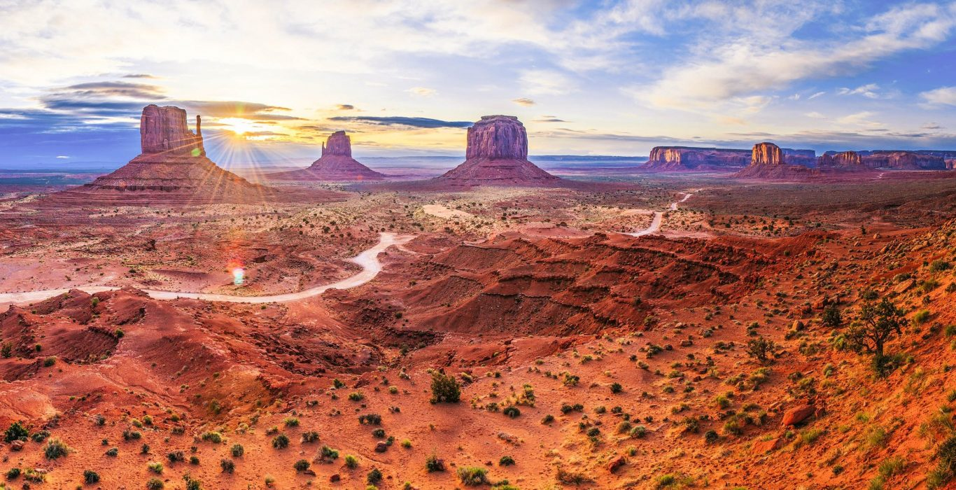 A brown, rocky, desert landscape with towering rock formations, used as a featured image for the article